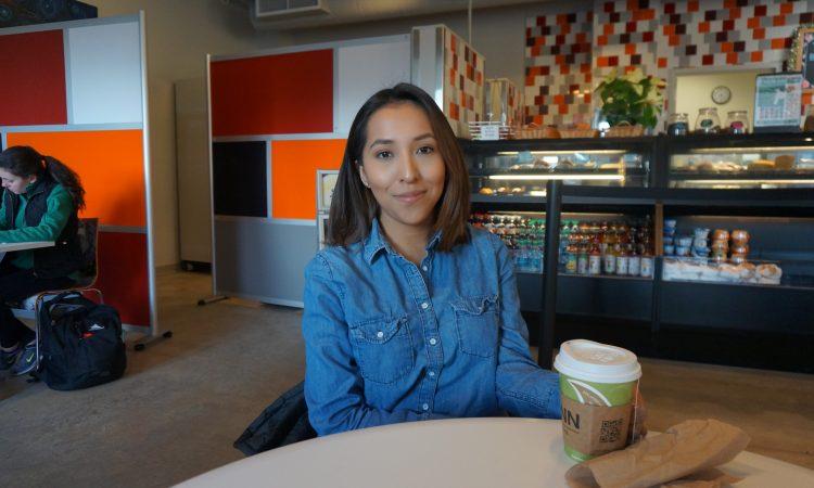 Tea at the Beanery Café with Joselin Tlacomulco